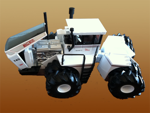 Don Collins Version 1/64 Big Bud 740 4WD with Duals and Triples