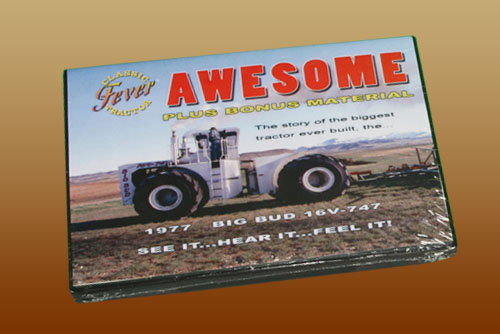 V-16 747 Big Bud Awesome DVD