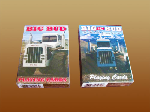 Big Bud Playing Cards