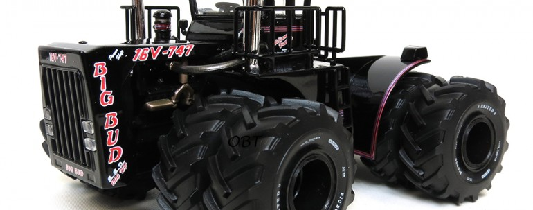 1/64 Scale Big Bud 16V-747 – Black – 1100 HP Tour Edition