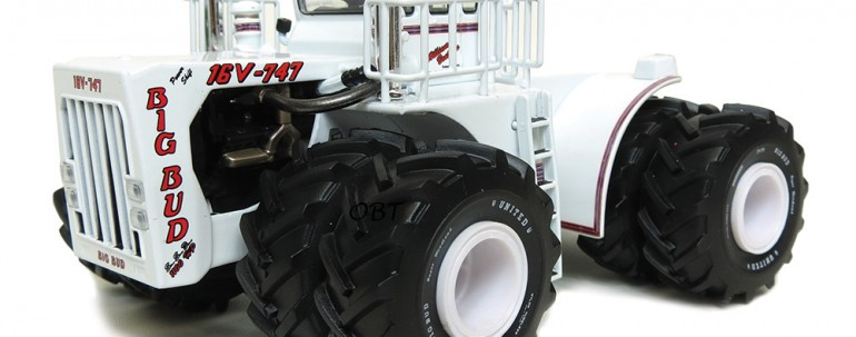 1/64 Scale Big Bud 16V-747 – White – 1100 HP Tour Edition